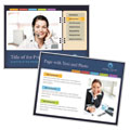 Secretarial Services - PowerPoint Presentation Template Design