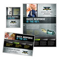 Locksmith - Flyer & Ad Template Design