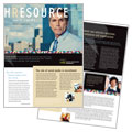 Human Resource Management - Newsletter Template Design