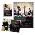 Human Resource Management - Flyer & Ad Template Design