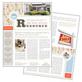 Real Estate Home for Sale - Newsletter Template Design