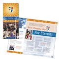 Evangelical Church - Brochure Template Design Sample