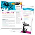 Church Outreach Ministries - Datasheet Template Design