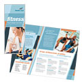 Health & Fitness Gym - Brochure Template Design Sample