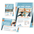Health & Fitness Gym - Flyer & Ad Design