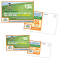 Golf Instructor & Course - Postcard Template Design