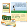 Golf Instructor & Course Flyer & Ads