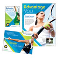Tennis Club & Camp - Flyer & Ad Template Design Sample