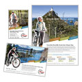 Bike Rentals & Mountain Biking - Flyer & Ad Template Design Sample