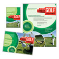Golf Tournament - Flyer & Ad Design