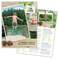 Kids Summer Camp - Brochure Template Design