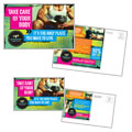 Strength Training - Postcard Template Design