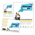 Charity Run - Flyer & Ad Template Design Sample