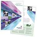 High-Tech Manufacturing - Brochure Template Design Sample