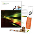 Internet Software - Brochure Template Design