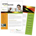 Internet Software - Datasheet Template Design