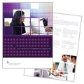 Information Technology Consultants - Brochure Template Design Sample