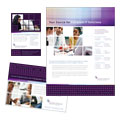 Information Technology Consultants - Flyer & Ad Template Design