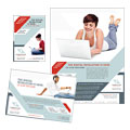 Computer Solutions - Flyer & Ad Template Design Sample