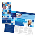 Technology Consulting & IT - Tri Fold Brochure Template Design