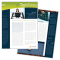 Free Sample Newsletter Design