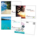 Travel Agency - Postcard Template Design