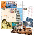 Italy Travel - Brochure Template Design Sample