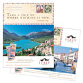 Italy Travel - Poster Template Design