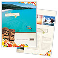 Hawaii Travel Vacation - Brochure Design