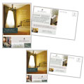 Bed & Breakfast Motel - Postcard Template Design
