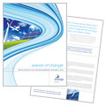 Renewable Energy Consulting - Brochure Template Design