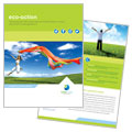 Green Living & Recycling - Brochure Design
