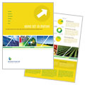 Environmental Conservation - Brochure Template Design
