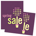 Spring Plant - Sale Poster Template Design Sample