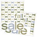 Geometric Fall Color - Sale Poster Template Design Sample