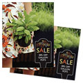 Garden Plants - Sale Poster Template Design Sample