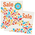 Summer Color Floral - Sale Poster Template Design Sample