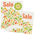 Spring Color Floral - Sale Poster Template Design Sample