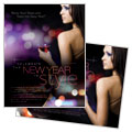 New Year Celebration - Poster Template Design Sample