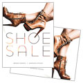 Designer Shoes - Sale Poster Template Design Sample