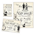 Vintage New Year's Party - Flyer & Ad Template Design Sample