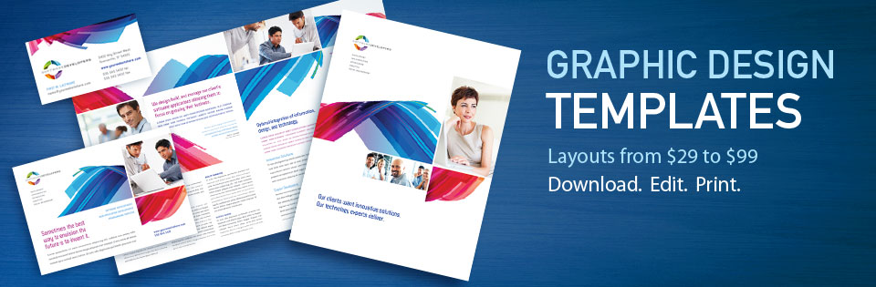 StockLayouts Graphic Design Templates: Brochure Templates, Flyer Templates