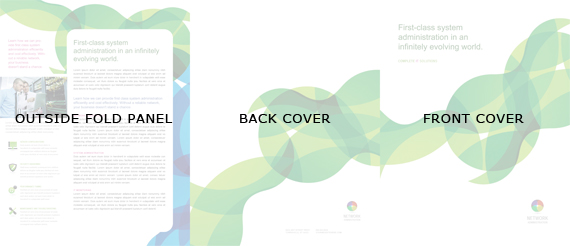 Tri-Fold Brochure Outside Layout