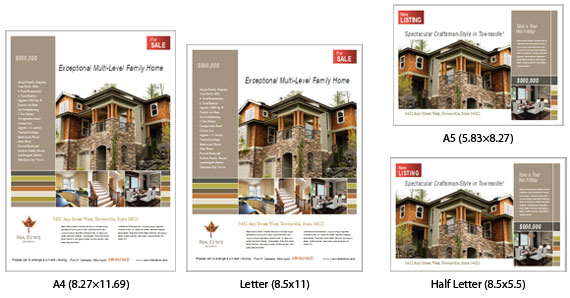 U.S. - to International Page Sizes - A4 and A5 Page Sizes