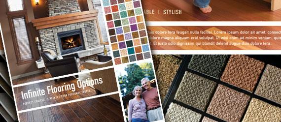 Carpet & Hardwood Flooring Business Marketing Materials & Graphic Designs