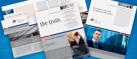 Legal & Government Services Brochure, Newsletter, Stationery, and Flyer & Ads Designs