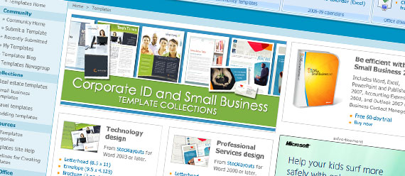 Microsoft Office Online Template Resource