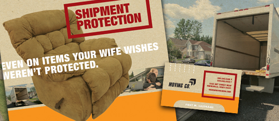 Movers & Moving Companies Brochure, Postcard, Flyers & Ads and Stationery Designs