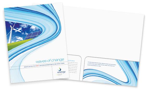 Presentation Folder Graphic Design