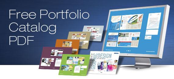 StockLayouts Free Graphic Design PDF Portfolio
